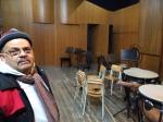 sopralluoghi al Conservatorio di Pescara per lo spettacolo Chi rapì la Topina Costanza?